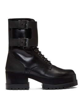 Black Willy Boots by Clergerie
