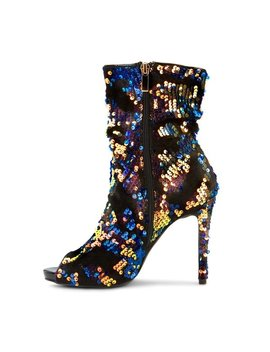 Olivia Miller 'golovin' Multi Color Sequin Booties by Generic