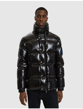 Dervaux Down Jacket In Black by Moncler Genius