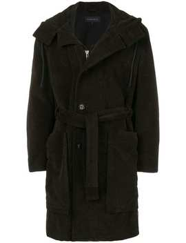 Belted Coat by Ann Demeulemeester