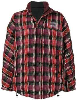 Padded Check Jacket by Napa By Martine Rose