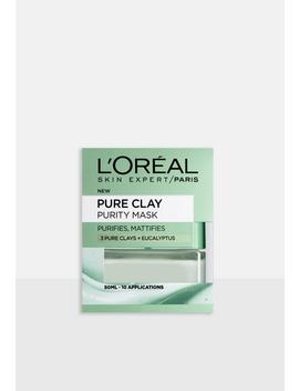 Loreal Paris Pure Clay Purity Face Mask by Missguided