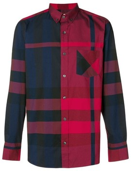 Checked Button Shirt by Burberry