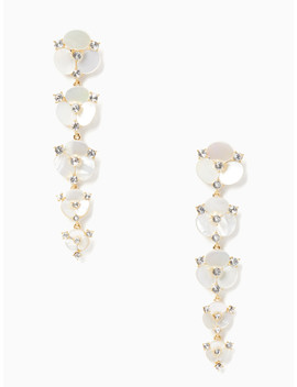 Disco Pansy Statement Drop Earrings by Kate Spade