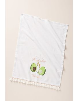 Avocado Toast Dish Towel by Carly Home
