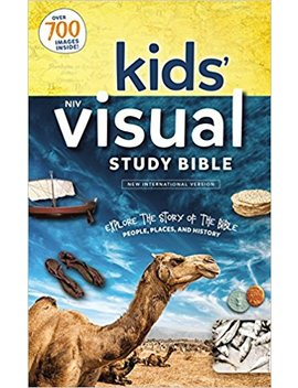 Niv, Kids' Visual Study Bible, Hardcover, Full Color Interior: Explore The Story Of The Bible   People, Places, And History by Zondervan