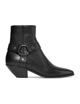West Ankle Boots Aus Leder by Saint Laurent