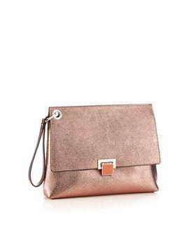 Faith   Metallic Wristlet Clutch Bag by Faith
