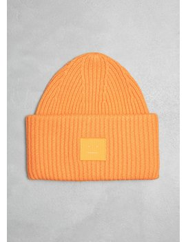 Pansy S Face Beanie by Acne Studios
