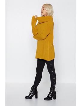 Over And Out Turtleneck Sweater by Nasty Gal