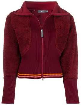 Zipped Fitted Sweatshirt by Adidas By Stella Mccartney