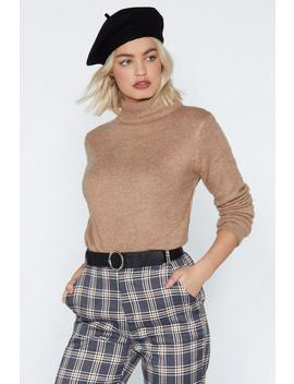 Funnel Neck Jumper by Nasty Gal