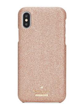 Glitter Hard I Phone X Case by Kate Spade New York