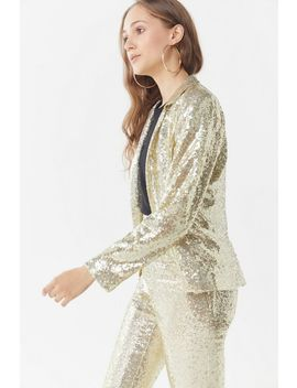 Uo Jameson Sequin Blazer by Urban Outfitters