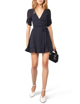 Monica Wrap Dress by Reformation