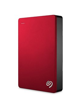 Seagate Backup Plus 5 Tb Portable External Hard Drive Usb 3.0, Red + 2mo Adobe Cc Photography (Stdr5000103) by Seagate