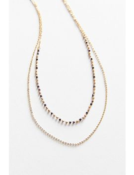 Roxie Beaded Layer Necklace by Urban Outfitters