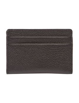 Chelsea Pebbled Leather Card Holder by Dkny
