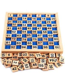 Montessori Mathematics Material Child Learning Wooden Educationa Number 1 To 100 by Unbranded/Generic