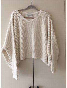 * Zara Knit Ladies Cream Oversized Jumper Size Small * by Ebay Seller