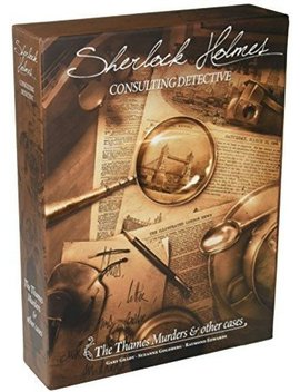 Sherlock Holmes: The Thames Murders & Other Cases by Fantasy Flight Games