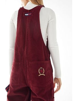 Tommy Jeans Corduroy Dungaree Overall by Tommy Jeans