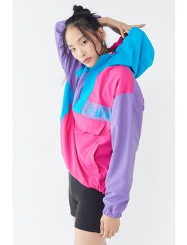X Girl Crazy Color Anorak Jacket by X Girl