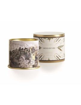 Illume Holiday Large Tin: Woodfire by Illume