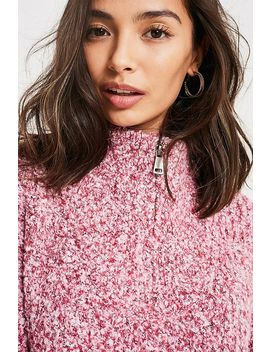 Uo Neppy Half Zip Jumper by Urban Outfitters