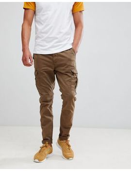 Superdry Surplus Goods Cargo Pants In Tan by Superdry