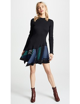 Ribbed Knit Dress by Derek Lam 10 Crosby
