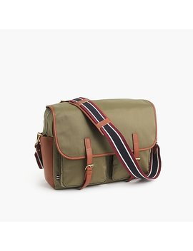 Oar Stripe Nylon Messenger Bag by J.Crew