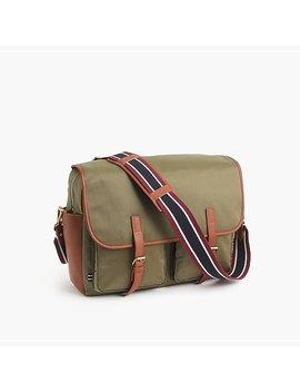 Oar Stripe Nylon Messenger Bag by J.Crew