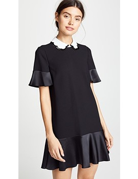 Flare Dress With Collar by Red Valentino