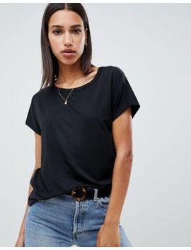 Asos Design Formal Kimono T Shirt In Black by Asos Design