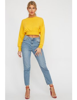 High Rise Mom Jean by Urban Planet