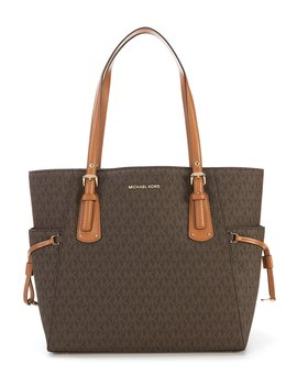 Voyager Signature Colorblock Tote by Michael Michael Kors