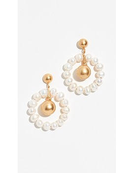 Agnes Pearl Earrings by Madewell