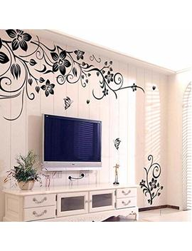 Wall Stickers, Franterd Grand Removable Vinyl Mural Decal Art Home Decor Painting Supplies  Flowers by Franterd Home Decor
