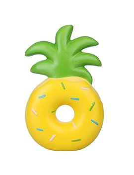 """Vlampo Squishies Scented Pineapple Donut Squishy Slow Rising Stress Toys 6.1"""" (Yellow) by Rosybeat"""