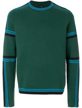 Crew Neck Striped Sweater by Ps By Paul Smith