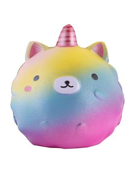 """Anboor 4.3"""" Squishies Unicorn Panda Jumbo Slow Rising Kawaii Scented Soft Colorful Animal Squishies Toys Color Random,1 Pcs by Anboor"""