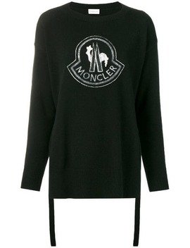 Logo Sweater by Moncler
