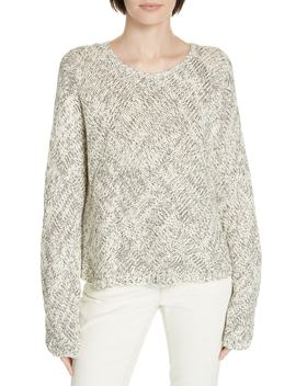 Marled Organic Cotton Sweater by Eileen Fisher