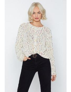 Spot The Difference Sweater by Nasty Gal
