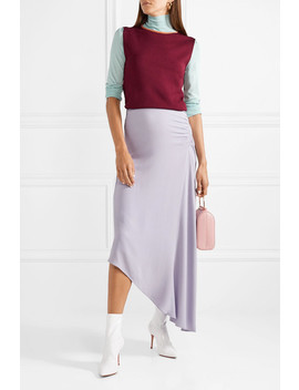 Elsta Color Block Knitted Turtleneck Sweater by Roksanda