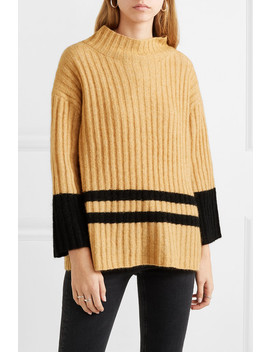 Paprikana Striped Knitted Sweater by By Malene Birger