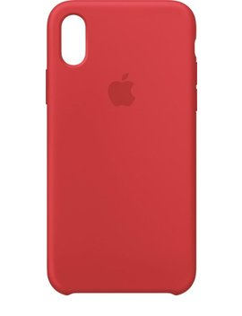 I Phone® X Silicone Case   (Product)Red by Apple