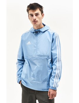 Adidas Tango Light Blue Windbreaker by Pacsun