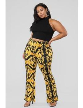 Chain Me Up Pants   Black by Fashion Nova